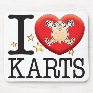Karts Love Man Mouse Pad