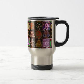 KARUNA Reiki = Gifts of Cosmic Kindness n Healing Stainless Steel Travel Mug