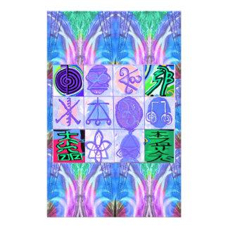 KARUNA Reiki Symbols : Artistic Rendering Customized Stationery