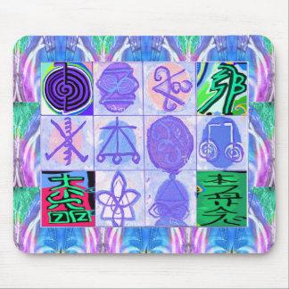 KARUNA Reiki Symbols : Artistic Rendering Mouse Pad