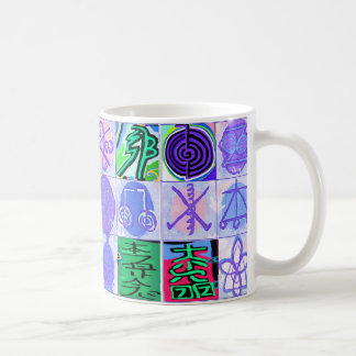 KARUNA Reiki Symbols : Artistic Rendering Mugs
