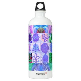 KARUNA Reiki Symbols : Artistic Rendering SIGG Traveller 1.0L Water Bottle
