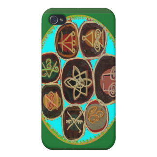 KARUNA Reiki Symbols by Navin Joshi Case For The iPhone 4