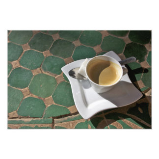 Kasbah Hotel and Restaurant, coffee and green Photograph