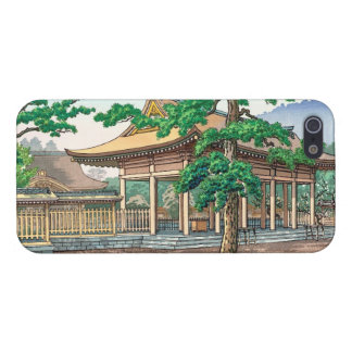 Kashiwara Shrine summer scenery Japanese hanga Cases For iPhone 5