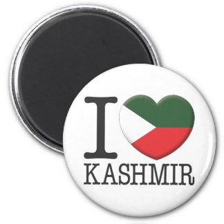 Kashmir 6 Cm Round Magnet