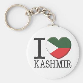Kashmir Basic Round Button Key Ring