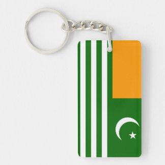 kashmir country flag province region symbol key ring