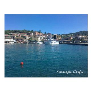 Kassiopi, Corfu Postcard