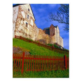 Kastelholm Castle Postcard