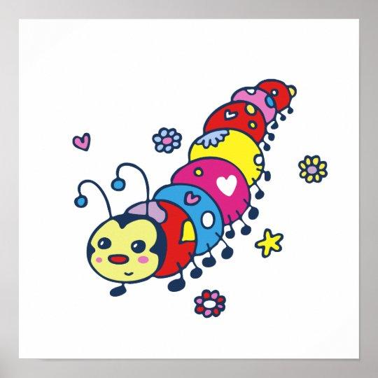 Kat the Caterpillar Poster