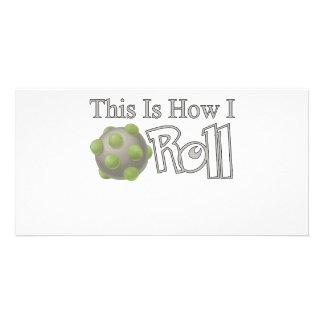 Katamari Roll Photo Card