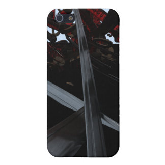 Katana Explosion iPhone 5/5S Cover