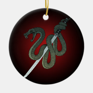 Katana Snake 1 Christmas Ornament