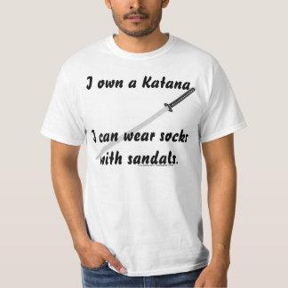Katana vs Fashion. T-Shirt