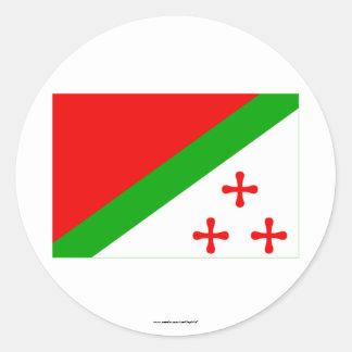 Katanga Flag (1960-1963) Classic Round Sticker