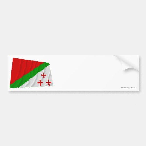 Katanga Waving Flag (1960-1963) Bumper Stickers