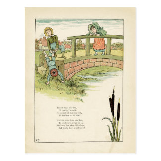 Kate Greenaway Childrens Illustration Postcard