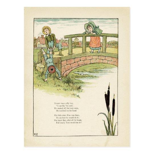 Kate Greenaway Childrens Illustration Postcard