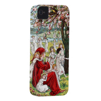 Kate Greenaway Pied Piper iPhone 4/4S Case