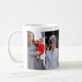 Kate Middleton Prince George Basic White Mug