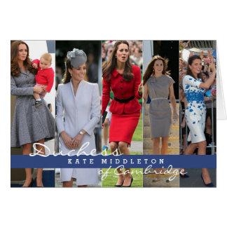 Kate Middleton Prince George Card