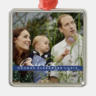 Kate Middleton Prince George Christmas Ornament