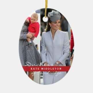 Kate Middleton Prince George Christmas Ornament