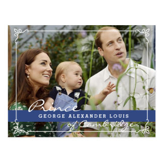 Kate Middleton Prince George Postcard