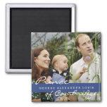 Kate Middleton Prince George Square Magnet