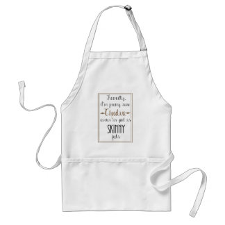 Kate Moss Chocolate Quote Apron