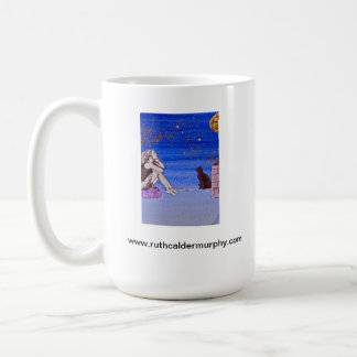 Kate on the Rooftop - Fantasy Self Portrait Coffee Mugs