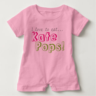 Kate Pops Romper Baby Bodysuit