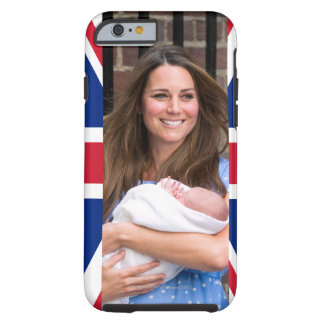 Kate & William with Newborn Son Tough iPhone 6 Case