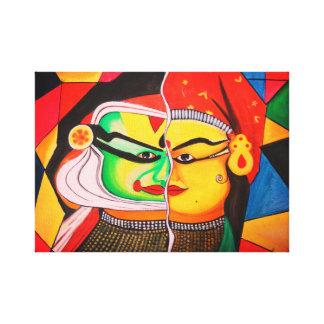 Kathakalli Canvas Print