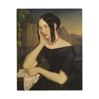 Katharina Kern of Sterzing, 1842 Wood Print