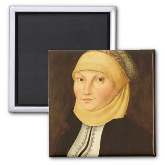 Katharina Luther , 1528 Square Magnet
