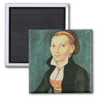 Katharina von Bora, future wife of Martin Square Magnet