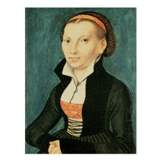 Katharina von Bora, future wife of Martin Postcard