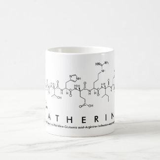 Katherine peptide name mug