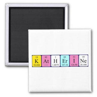 Katherine periodic table name magnet