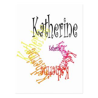 Katherine Postcard