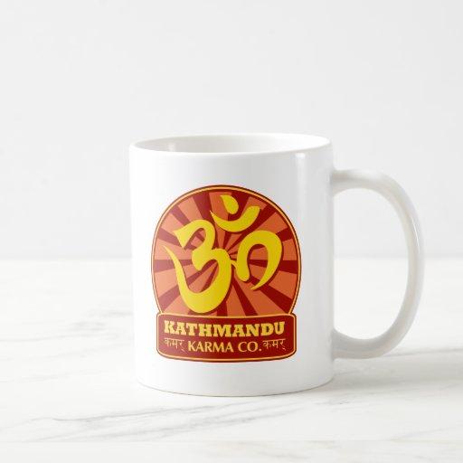 Kathmandu Karma Buddhist and New Age Coffee Mug