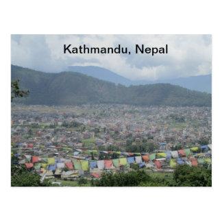 Kathmandu, Nepal Postcard