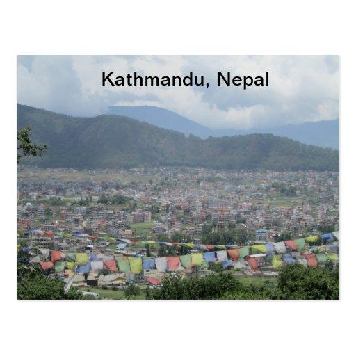 Kathmandu, Nepal Post Cards