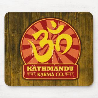 Kathmandu New Age and Buddhist Om Symbol Mouse Pad