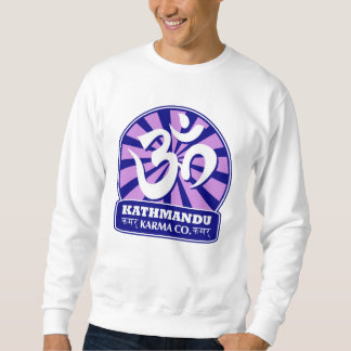 Kathmandu New Age and Buddhist Om Symbol Sweatshirt