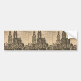Katholische Hofkirche, Dresden Bumper Stickers