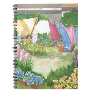 Kathy's Laundry on Monhegan Is Maine Notebook