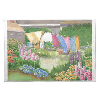 Kathy's Laundry on Monhegan Island Maine Placemat